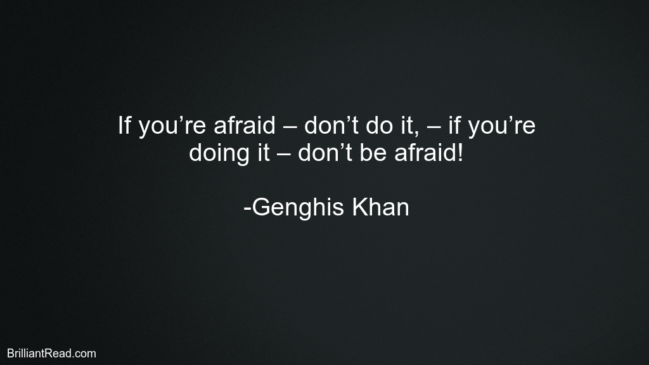 32 Best Genghis Khan Quotes On Life Leadership And Success