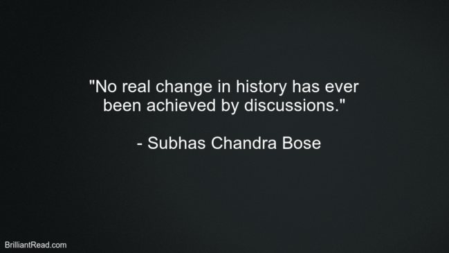 Quotes by Subhas Chandra Bose