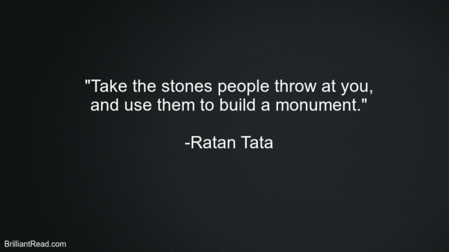 Ratan Tata Motivation Quotes