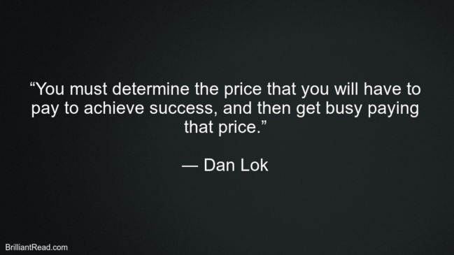 Dan Lok Success Quotes