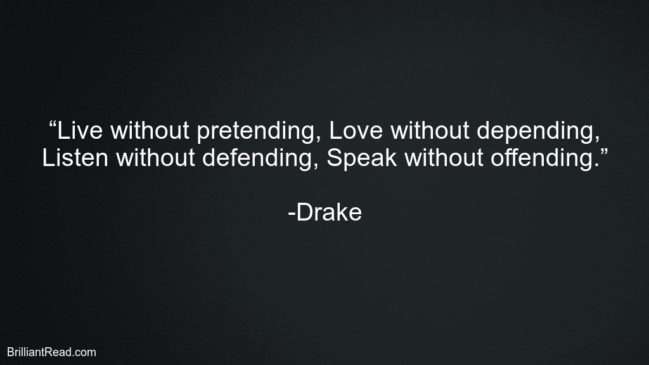 Best Love Quotes By Drake