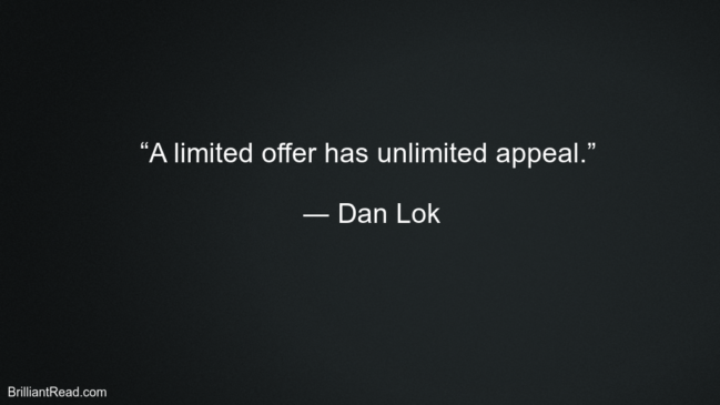 Dan Lok Motivation Quotes