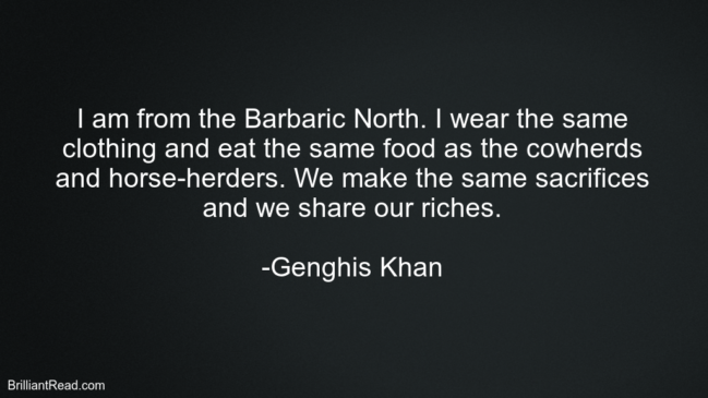 Top Best Genghis Quotes