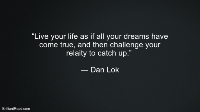 Dan Lok Top Motivation Quotes