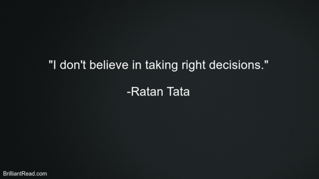 Best Motivation & Inspiring Quotes by Ratan Tata
