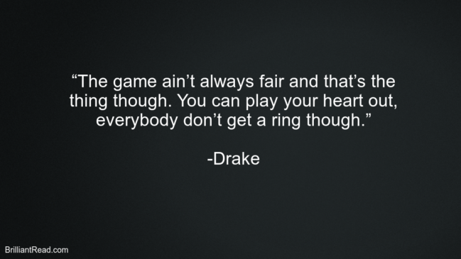 Best Drake Relationship Quotes