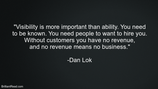 Dan Lok Top Best Motivation Quotes