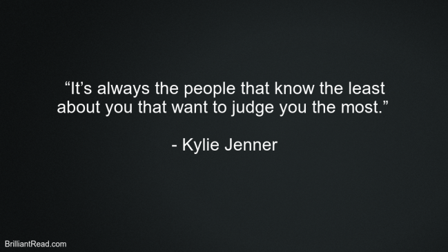 Kylie Jenner Best Quotes