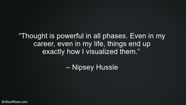 Best Nipsey Hussle Quotes