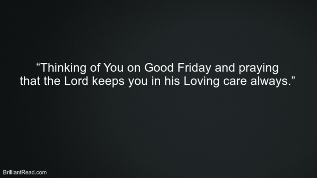 Holy Friday Quotes
