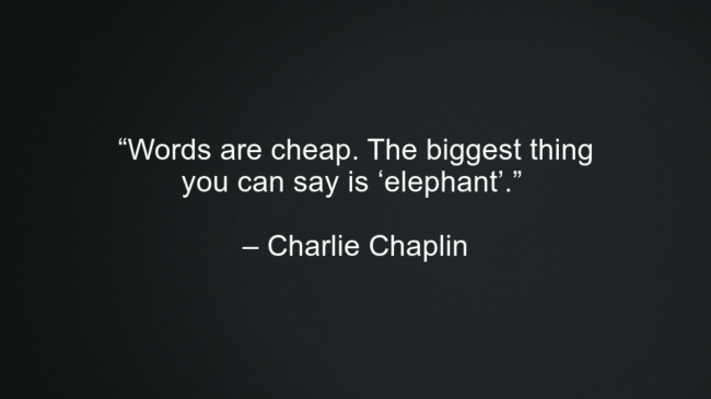 Charlie Chaplin Best Motivational Quotes