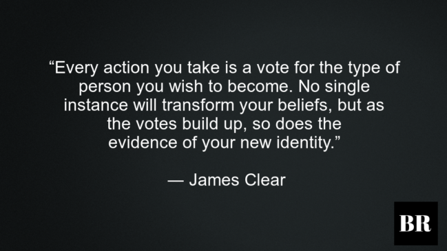 James Clear Atomic Habits Quotes, His Bio and Advice ...